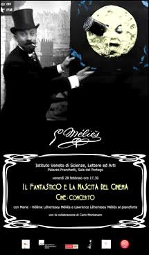 Cine-concerto dedicato alla figura di Georges Méliès